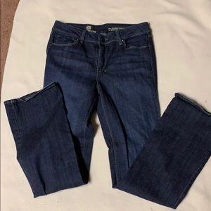 Liz Claiborne Indigo Stretch Boot Cut Jeans 10